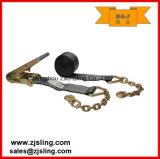 """4 """" X 30 ' Blackline con il cricco del carico di estensioni Chain che frusta cinghia"""