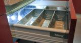 2017 hohes glattes UVpanel-kundenspezifische Küche-Schränke (ZX-034)