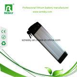 36V 12ah 12s de Batterij van het Lithium van het Zilvervisje voor 42V 500W e-Fiets Uitrusting