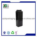 sacchetto laterale nero opaco del sacchetto di plastica del caffè del rinforzo del di alluminio di 12oz 14oz 16oz