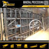 Oro della strumentazione di estrazione dell'oro del minerale metallifero del giacimento detritico della piccola scala che agita Tabella