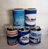 流行の昇華印刷のネオプレンのつけられた底が付いている短い缶のクーラー
