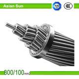 Obenliegendes Übertragungs-Kabel, ASTM Standard, AAC/AAAC/ACSR, Aluminiumleiter