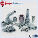 China-Lieferanten-Schnellkupplungs-Fabrik-hydraulische Schlauchleitung-Befestigung für Gummischlauch