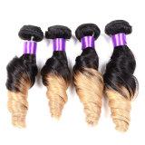 paquets droits d'armure péruvienne de trame noire normale de cheveu droit des cheveux humains 8A d'extensions de cheveu péruvien non transformé de Vierge 3