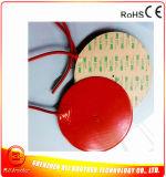 calefator da almofada de borracha de silicone do diâmetro 200*1.5mm de 12V 150W