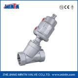 Prezzo pneumatico della valvola di regolazione del pistone dell'acciaio inossidabile del fornitore della Cina buon