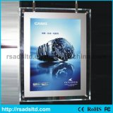 Acrílico Crystal LED Light Box Photo Frame
