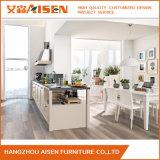 Gabinete de cozinha de madeira padrão americano moderno feito-à-medida