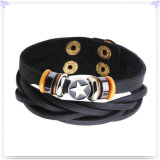 De Armband van het Leer van de Juwelen van het Leer van de Juwelen van de manier (LB708)