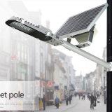 starkes halb integriertes Solarstraßenlaternedes justierbaren Sonnenkollektor-15W