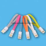 Cable micro de carga rápido del USB de 5 Pin del imán con precio barato