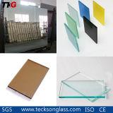 明確なフロートガラスは/ガラス/反射ガラス/高品質の薄板にされたガラス/ミラー/計算されたガラス/緩和されたガラスを染めた