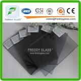 5mm tönte graues Eurofloatglas des Glas-//Glas/abgetöntes Glas des Floatglas-/Fenster des Glas-/Gebäude des Glas-/Kunst/dekoratives Glas des Glas-/Farbe/farbiges Glas ab