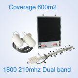 Impulsionador do sinal do telefone de pilha da DCS 1800MHz 2g da venda da fábrica com o jogo completo do repetidor do sinal do telefone móvel da tela do LCD