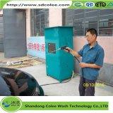 Machine de nettoyage de véhicule de service d'individu