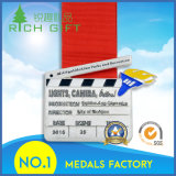 En alliage de zinc faits sur commande de constructeur la médaille en métal de sport de souvenir de moulage mécanique sous pression