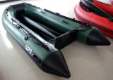 Piccola barca di svago (3.2m, colore verde dell'esercito)