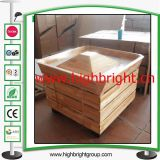 El equipo del departamento de la fábrica de los muebles de la madera de china modificó para requisitos particulares