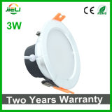 良質3W AC85-265V SMD5730 LED Downlight