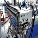 Molde que faz a linha de produção construção da placa do PVC da máquina embarcar a fatura da linha