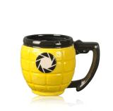 Tazza di caffè fredda del Teacup su ordinazione di ceramica della novità con a buon mercato