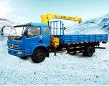 Guindaste montado 8tons do caminhão do guindaste do caminhão de XCMG para a venda
