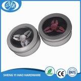 2017 Tendencia de los productos Cojinete de cerámica Fidget Spinner Aluminio Tri-Spinner escritorio Focus Toy