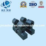 Pieza/desgaste - pieza resistente de la pieza de maquinaria de explotación minera/trituradora de la trituradora de martillo