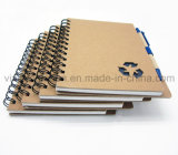 Wholesale su ordinazione Spiral Notebook con Eco Friendly Pen per Promotion (SNB125)