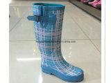 Blue Butterfly paragraphe Aide chaussures chaudes Couvre imperméable Slip Bottes de caoutchouc résistant