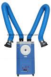 Extrator das emanações de soldadura com a capa de extração para a cabine da soldadura