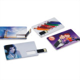 Karte USB Flash Drive, Kreditkarte USB Flash Drive, The Most Popular USB Drive für Promotional Gifts