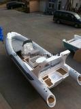 Barco inflable de lujo de la costilla del barco los 6.6m China de la alta calidad