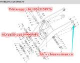 Sdlg 본래 LG952 LG953 LG956 LG958 로더는 부시 Lgb302-95*100b2 4043000030를 분해한다