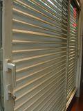 Puerta deslizante del marco de la lumbrera de aluminio del obturador, ventana del obturador