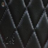 Cuoio sintetico dell'unità di elaborazione Microfiber del PVC di alta qualità per il sofà (HS-QF13)
