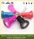 Il caricatore universale all'ingrosso 5V 2.1A+1A dell'automobile del USB del doppio della fabbrica con Ce RoHS ha approvato per il telefono astuto