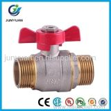 Válvula de esfera de bronze da união da tubulação