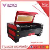 Machine de gravure chaude de découpage de laser de CO2 de la vente K1610 2017 en Chine