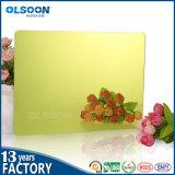 صنع وفقا لطلب الزّبون حجم/لون أكريليكيّ فضة مرآة صفح مساء مرآة