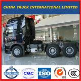 Het 10-wiel van Sinotruk howo-A7 420HP 6X4 de Tractor van de Aanhangwagen