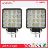 el punto cuadrado de la barra ligera de 4inch 48W LED enciende el LED de las luces del trabajo de camino que conducen las luces de niebla IP67 impermeables para campo a través, carro, jeep, coche, ATV, SUV, barco
