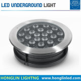 強力な54W RGBの地下の照明LED床ランプ