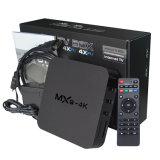 Cadre intelligent Mxq-4K du faisceau TV de quarte de l'androïde 5.1 du boîtier décodeur Rk3229