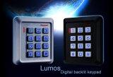 Controle de acesso plástico do teclado de Digitas (K30)