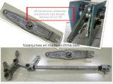 Machine gravante en relief à haute fréquence pneumatique bon marché de logo pour la soudure en plastique en cuir