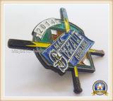 Pin personnalisé par émail mol en métal (MJ-Pin-155)