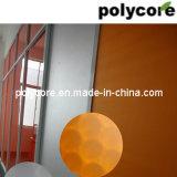 Nid d'abeilles coloré de polycarbonate