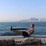 """Pista del balance - 19 X-Grandes """" X 15 """" X 2.3 """" - pista del ejercicio y amaestrador del balance de la espuma - amortiguador del giro excéntrico para la terapia física"""